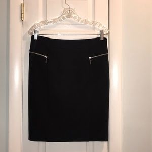 MICHAEL Michael Kors Skirts - Michael kors black skirt with zipper detail